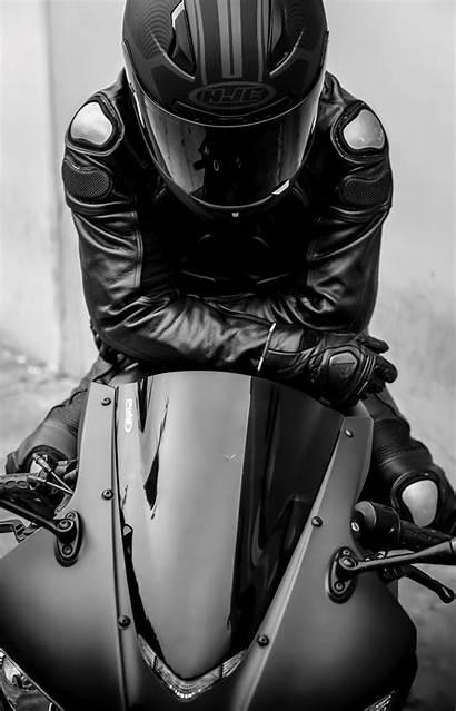 Motorcycle Bike Biker Helmet Foto Universe Motocross