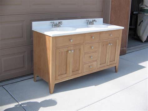 cherry bath vanity   buildsomethingcom
