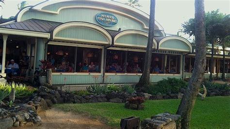 Maui's Mama's Fish House Only Hawaii Restaurant On