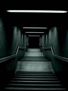 Dark Stairway Lockscreen Android Wallpaper free download