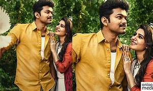 Second single from Mersal tomorrow; Here's a new poster ...