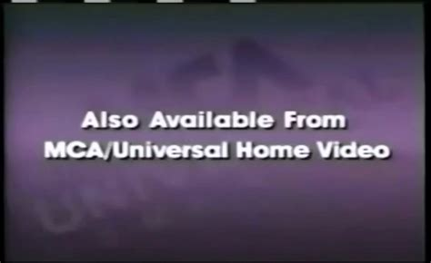 Universal Studios Home Entertainment Also Available Id