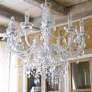 Lustre Baroque Maison Du Monde : lustre pampilles maison du monde lustres luminaire projecteur led ~ Teatrodelosmanantiales.com Idées de Décoration