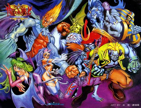 Darkstalkers Manhua Darkstalkopedia Fandom Powered