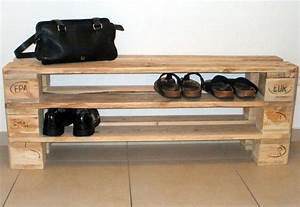 Schuhschrank Aus Paletten : palette als schuhregal ihr traumhaus ideen ~ Buech-reservation.com Haus und Dekorationen
