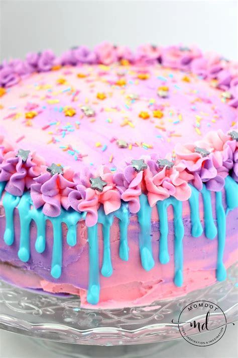 unicorn poop cake recipe