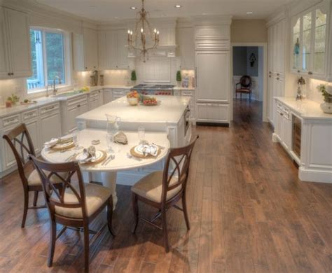 kitchen table islands 30 kitchen islands with tables a simple but clever combo 3222