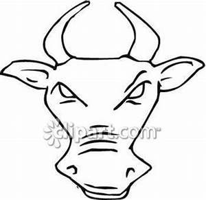 Bull Head Outline Pictures to Pin on Pinterest - PinsDaddy