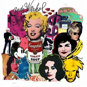 Andy Warhol Collage 2 Polyvore