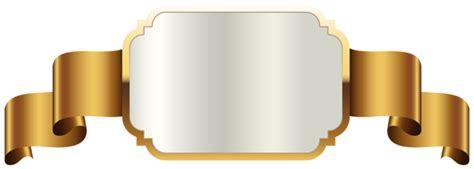 gold label template transparent png clip art image