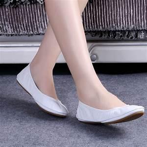 Hot Fashion Women's Ballerina Shoes Comfortable Genuine ...