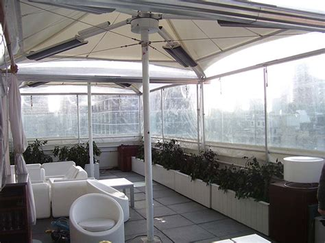 stylish restaurant patio enclosures plastic as ideas and