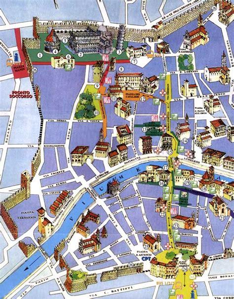 Carte Italie Ville Pise by Carte Pise