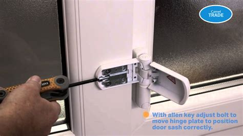 adjust  hinge   dropped pvc door youtube