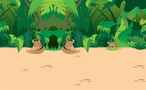Animated Jungle Wallpaper - wallpaper clipart jungle pencil and in color wallpaper