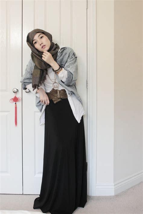 western style hijab fashion hijabmelody