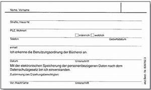 Foto Einverständniserklärung : b cherei praxishandbuch anmeldung ~ Themetempest.com Abrechnung