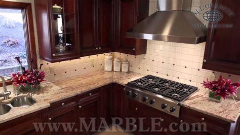 ivory brown granite kitchen countertops ii  marblecom youtube