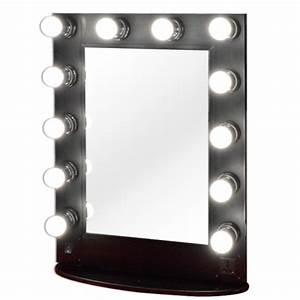 Miroir à Poser : miroir lumineux de table maquillage et coiffure grande taille ~ Teatrodelosmanantiales.com Idées de Décoration