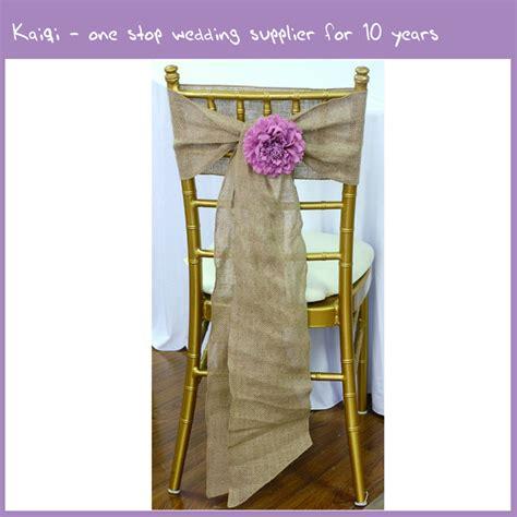 sale wholesale burlap wedding chair sash 19138 kaiqi