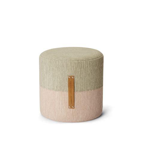 design house stockholm fields pouf rosa beige