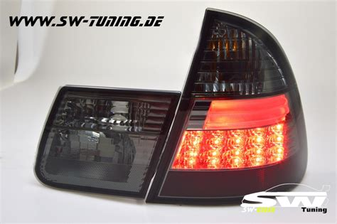 bmw e46 led rückleuchten sw celis led r 252 ckleuchten bmw e46 touring 01 06 black