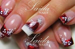 Cute christmas hat nail art designs ideas trends