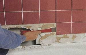 How to repair shower tile after leaks this old house for How to replace drywall in bathroom