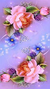 Pink Purple Blue Flowers