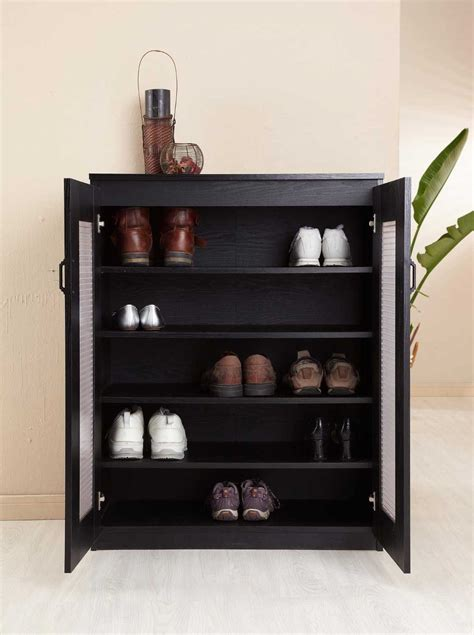 Shoe Cabinet by The 32 Inch Wide Enitial Lab Brisk 5 Shelf Shoe Cabinet