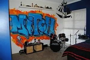 Coole Poster Fürs Zimmer : 40 coole dekoideen mit graffiti im zimmer ~ Bigdaddyawards.com Haus und Dekorationen
