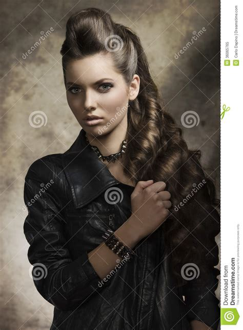 rock hair style with rock style royalty free stock photo image 7180