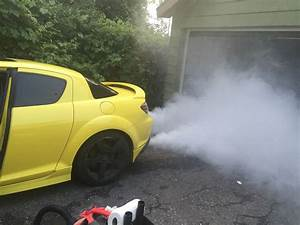 04 Rx8 Extreme White Smoke From Exhaust