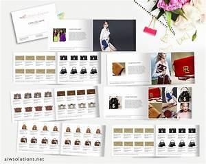 fashion catalog template product catalog indesign catalogue With clothing catalog template