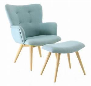 Fauteuil Repose Pied : fauteuil avec repose pieds stockholm ~ Teatrodelosmanantiales.com Idées de Décoration