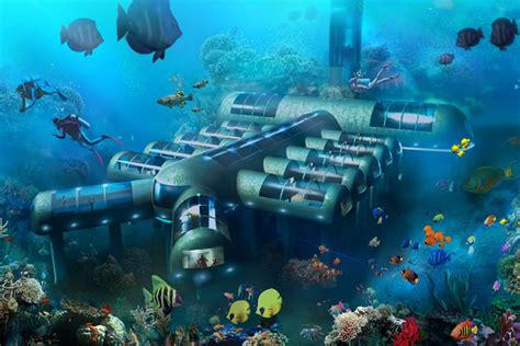 this crazy underwater hotel is slated to be built off the