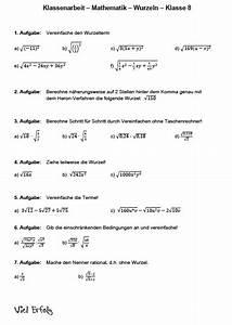 Terme Berechnen Klasse 5 : wurzelterme vereinfachen bungen matheaufgaben wurzeln ~ Themetempest.com Abrechnung