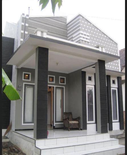 model lantai keramik  atap teras rumah minimalis satu