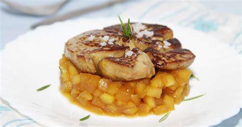 comment cuisiner du foie de boeuf foie gras poêlé pommes caramélisées et romarin recette
