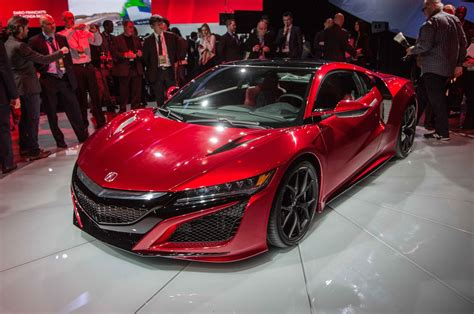 2016 Acura Nsx First Look