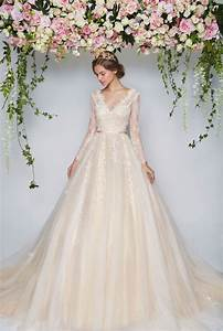 blooming romantic pretty in floral floral wedding dresses With floral wedding dresses