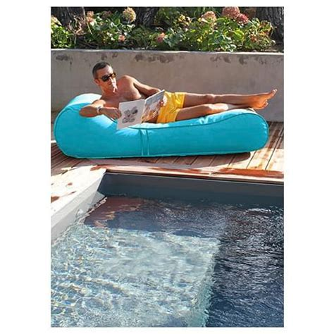 Capri Turquoise Inflatable Lounge Chair   Pool Supplies Canada
