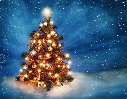 Christmas Animated Merry Wallpapers Awesome Tree Lights
