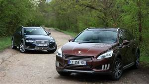 Peugeot 508 Rxh Hybrid4 : peugeot 508 rxh vs audi a4 allroad terrain glissant ~ Medecine-chirurgie-esthetiques.com Avis de Voitures