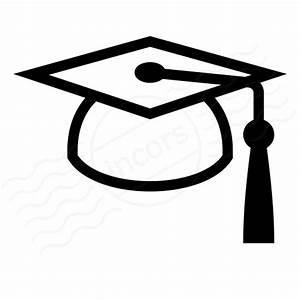IconExperience » I-Collection » Graduation Hat Icon