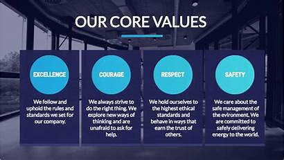 Office Welcome Values Sign Company Template Display