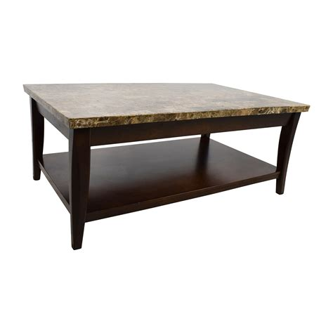 second hand table ls 71 off marble and wood coffee table tables