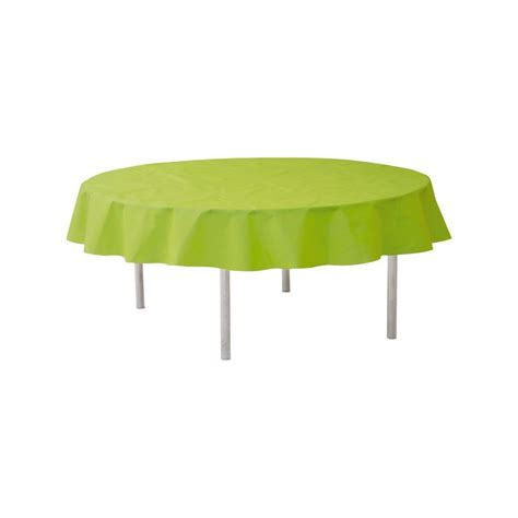 nappe ronde jetable 240 cm vert anis drag 233 e d amour