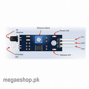 Ir Infrared Obstacle Avoidance Sensor Module Buy In Pakistan