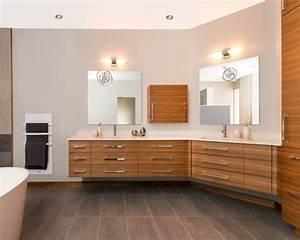Salle De Bain En Bois : salle de bain contemporaine en bois salle de bain pinterest ~ Teatrodelosmanantiales.com Idées de Décoration